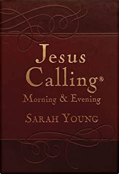 Jesus Calling Morning and Evening Devotional: Sarah Young