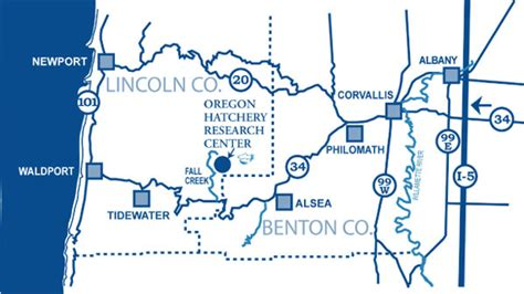 ODFW Visitor's Guide - The Oregon Hatchery Research Center