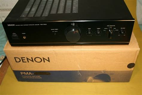DENON INTEGRATED STEREO AMPLIFIER PMA-255UK   in Inverness