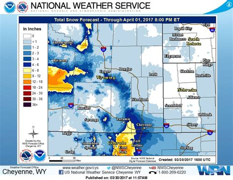 Winter Weather To Hit WY, ID, & MT   1-2 FEET of Snow For