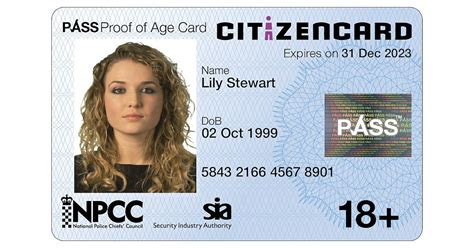 CitizenCard - UK Photo ID card and Proof Of Age