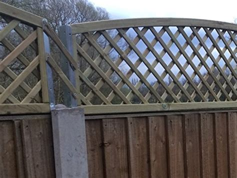 Postfix Trellis Fence Height Extension Arms VALUE PACK of