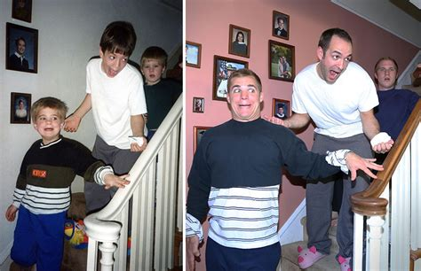 Three Brothers Remake Their Funniest Childhood Photos As